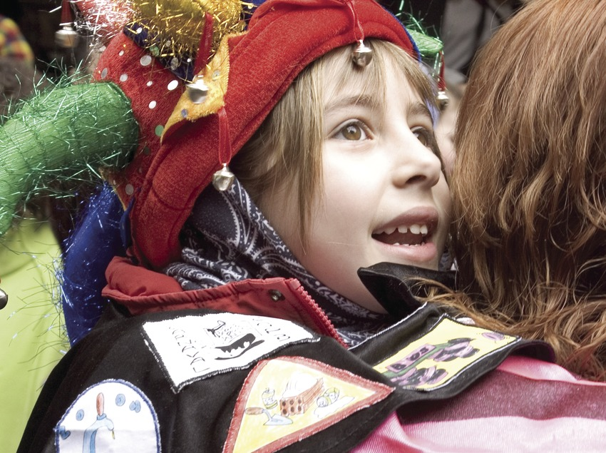 Child during Sitges Carnival