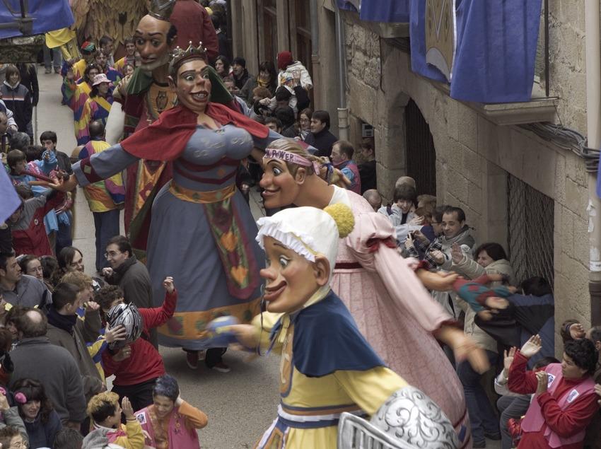 Gigantes del Carnaval de Sitges.  (Oriol Llauradó)