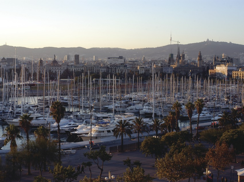 Vista general del Port Vell de Barcelona  (Marc Ripol)