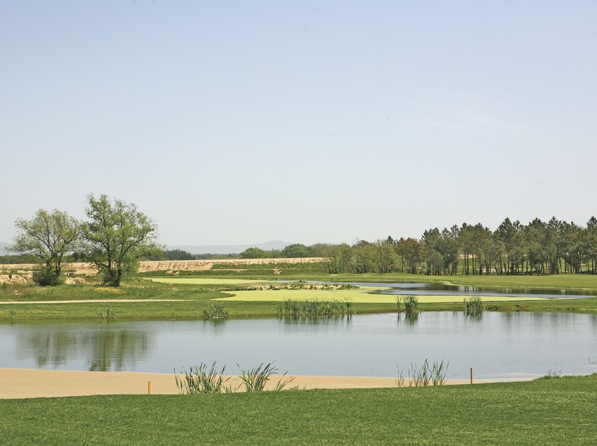 General view of the PGA Catalunya Golf Club