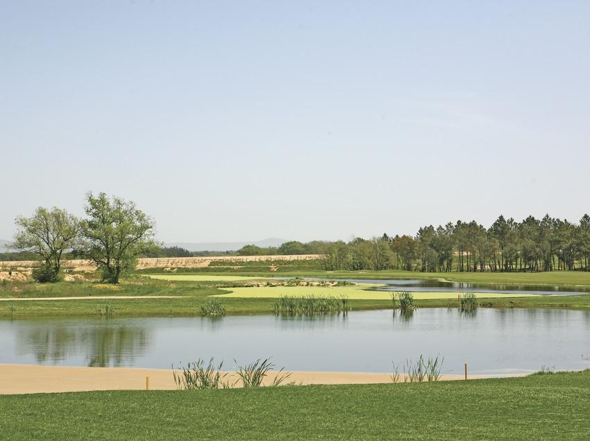 Vue générale du PGA Golf de Catalunya