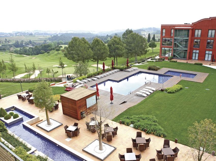 Vista general del Club de Golf de Barcelona.  (Marc Ripol)