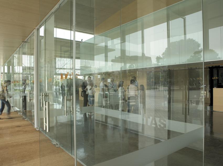 Vestíbulo del Teatro Auditorio de Salou.  (Oriol Llauradó)