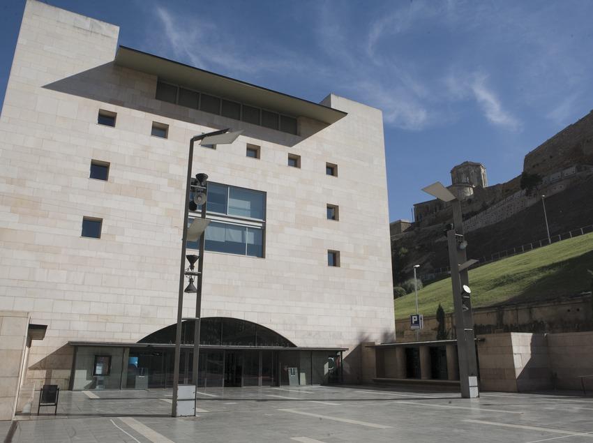Exterior de l'auditori Enric Granados.