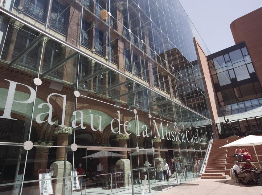 Exterior del Palau de la Música Catalana.  (Nano Cañas)