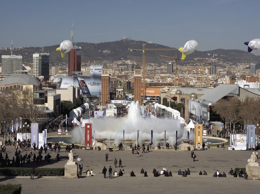 Fira de Barcelona a Montjuïc.  (Oriol Llauradó)