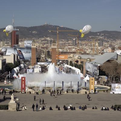 Feria de Barcelona en Montjuïc.  (Oriol Llauradó)
