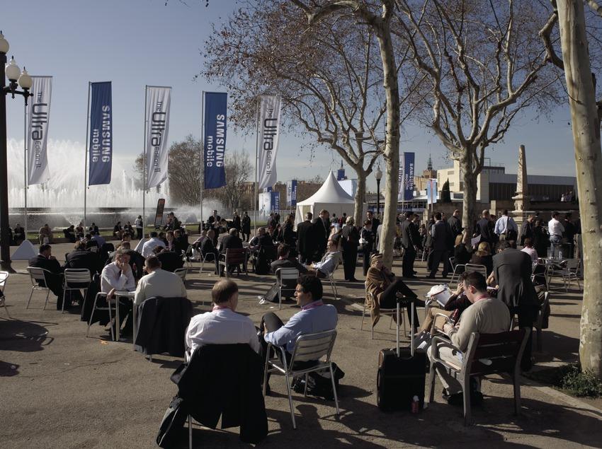 Exterior de la Fira de Barcelona a Montjuïc  (Oriol Llauradó)