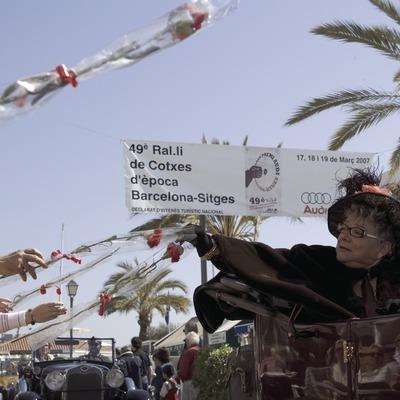 Rally Internacional de Coches de Época de Sitges.  (Oriol Llauradó)