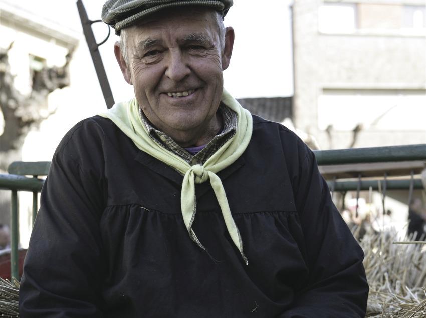 Vestit tradicional de la Festa dels Traginers.  (Oriol Llauradó)