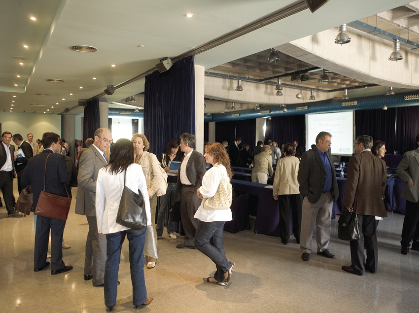 Interior de l'Hotel Serhs Campus, a la Universitat Autònoma de Barcelona  (Oriol Llauradó)