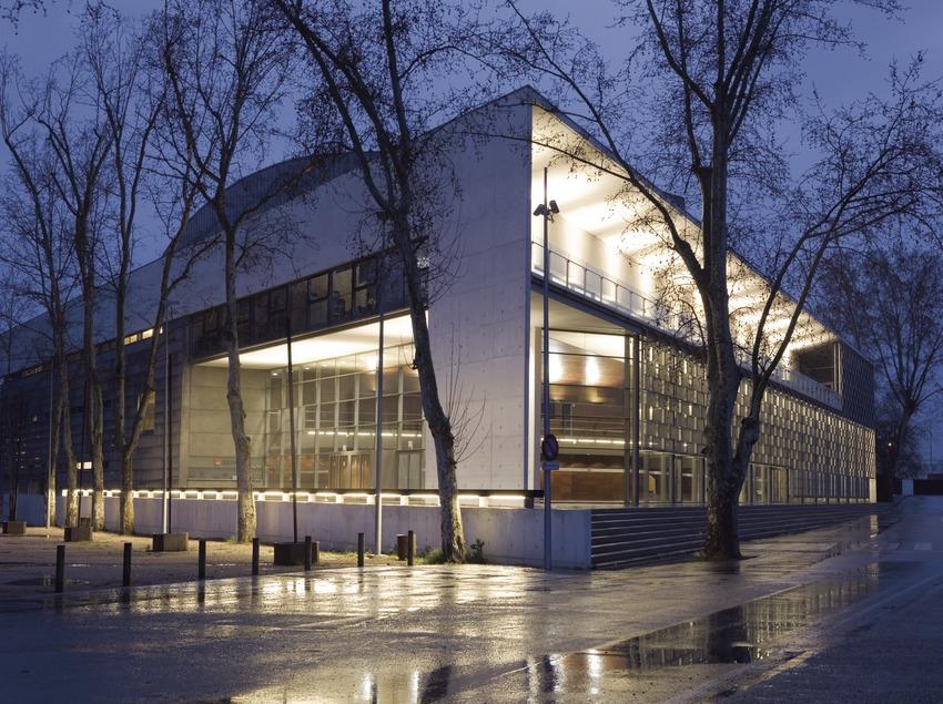 Exterior de l'Auditori del Palau de Congressos de Girona.