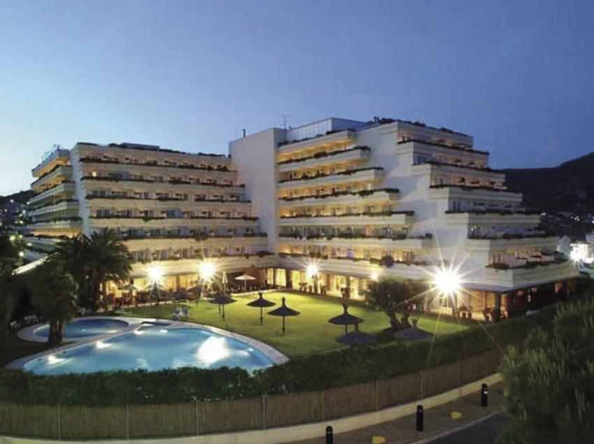 Extérieur de l'hôtel Melià Gran Sitges (Hotel Melià Sitges)