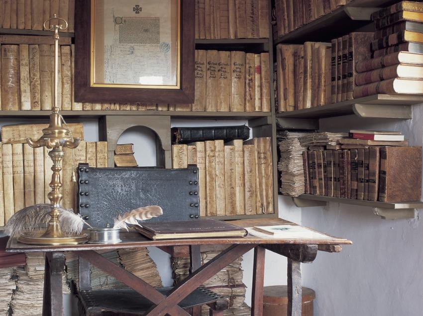 Biblioteca de Jacint Verdaguer.  (Kim Castells)