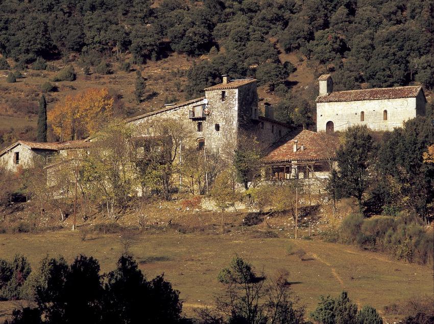 Casas en el valle del Bac