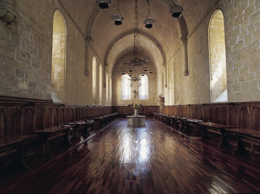 Refectory of the Royal Monastery of Santa Maria de Poblet  (Imagen M.A.S.)