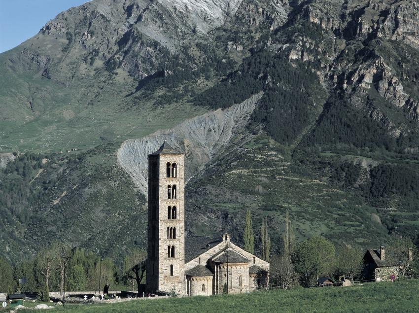 Església de Sant Climent de Taüll.  (Imagen M.A.S.)