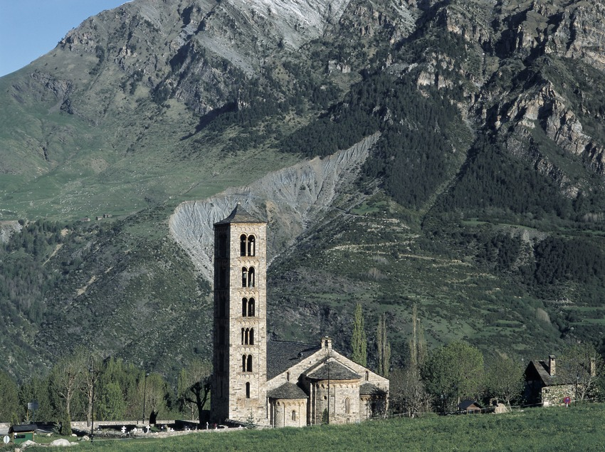 Iglesia de Sant Climent de Taüll.  (Imagen M.A.S.)