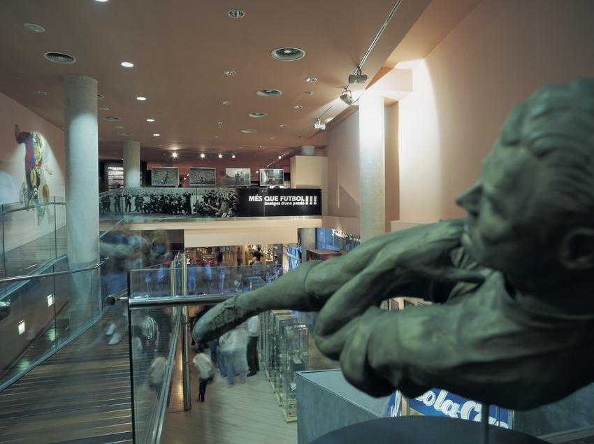 Museu del Futbol Club Barcelona.  (Imagen M.A.S.)