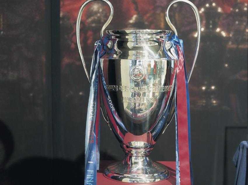 Copa de Europa en el Museo del Futbol Club Barcelona.