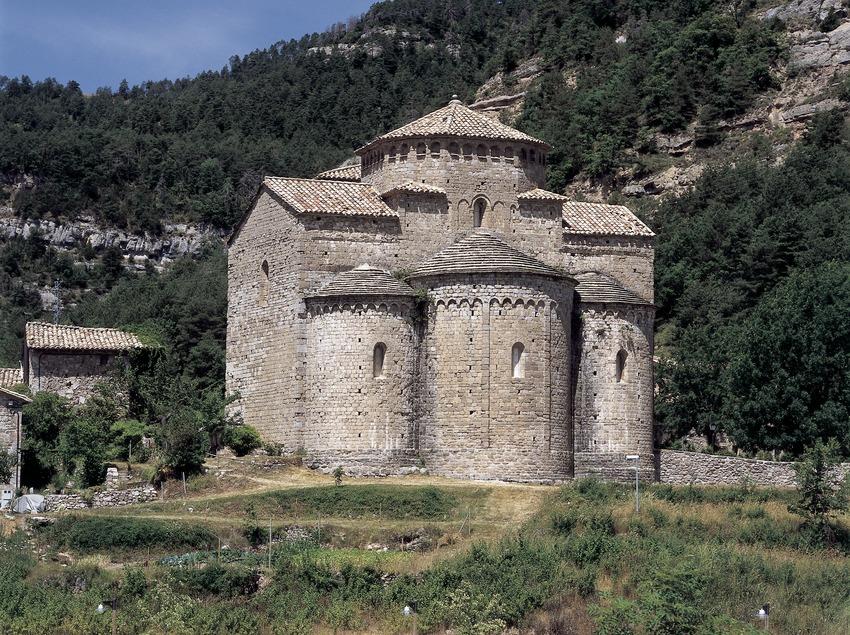 Monestir de Sant Jaume de Frontanyà  (Imagen M.A.S.)