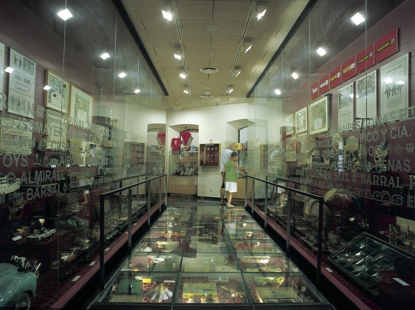 Sala del Museu del joguet de Catalunya.  (Imagen M.A.S.)