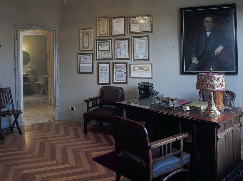 Despacho de la Casa Milà, La Pedrera. (Imagen M.A.S.)