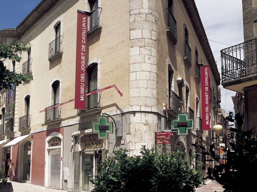 Exterior of the Toy Museum of Catalonia.  (Imagen M.A.S.)