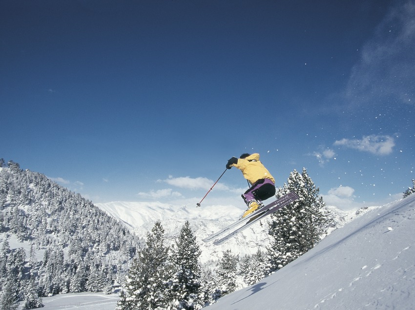 Ski nordique. Spot Ski.