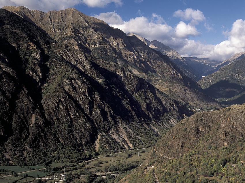 Vista panoràmica de la vall.