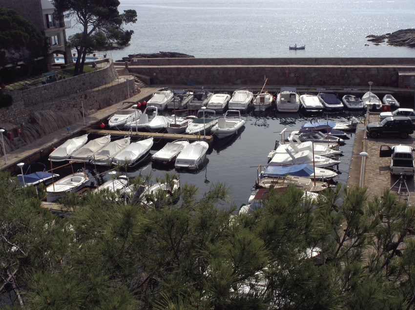 General view of the port at Aiguablava  (Marc Ripol)