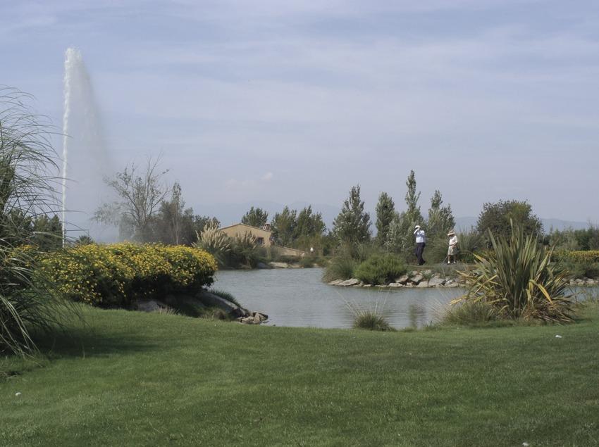 General view of the Peralada Golf Resort