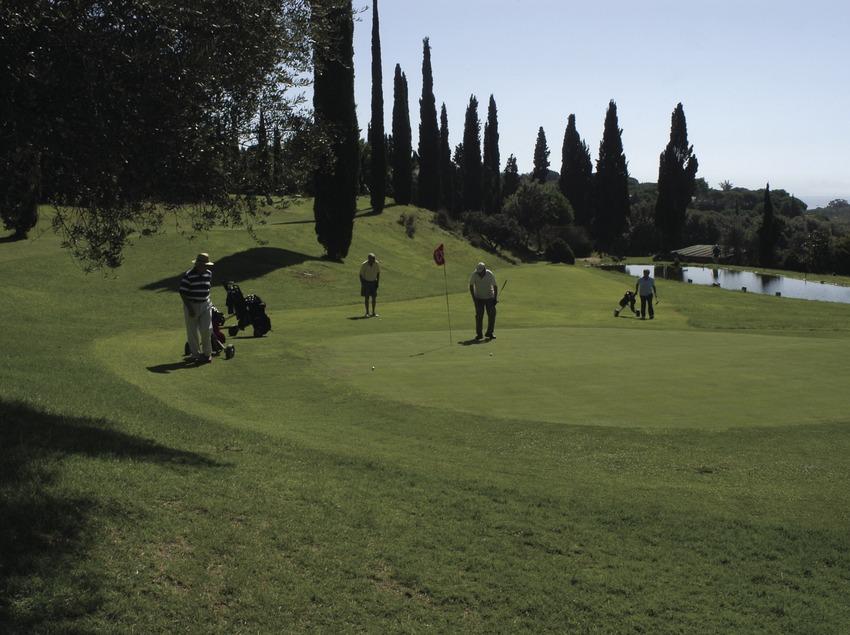 Vue générale du club de golf Llavaneras