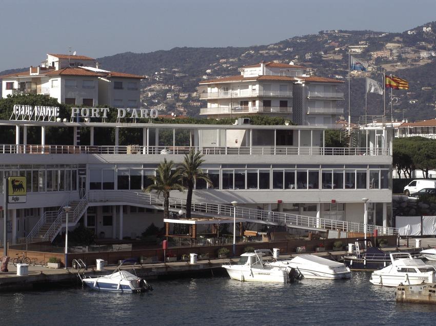 Instalaciones del puerto deportivo de Marina Port d'Aro  (Marc Ripol)