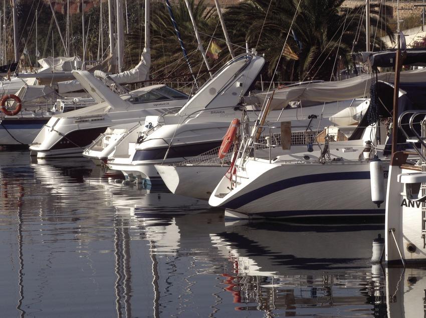 Embarcaciones en el puerto deportivo Marina de Palamós  (Marc Ripol)