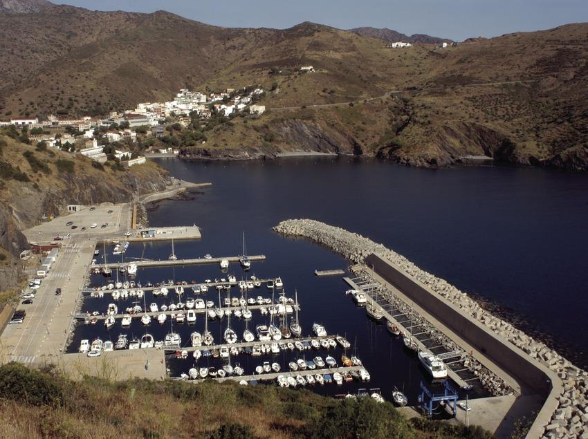 Vista general del puerto deportivo de Portbou  (Marc Ripol)
