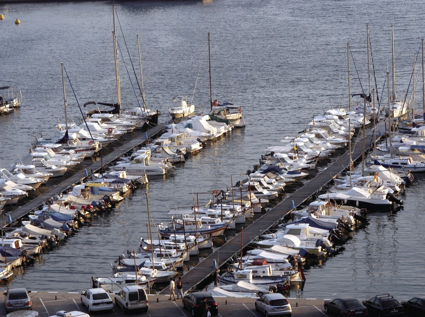 Boats moored in the port of Blanes  (Marc Ripol)