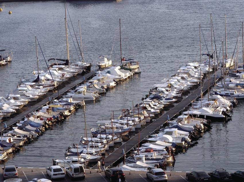 Embarcaciones amarradas en el puerto de Blanes  (Marc Ripol)