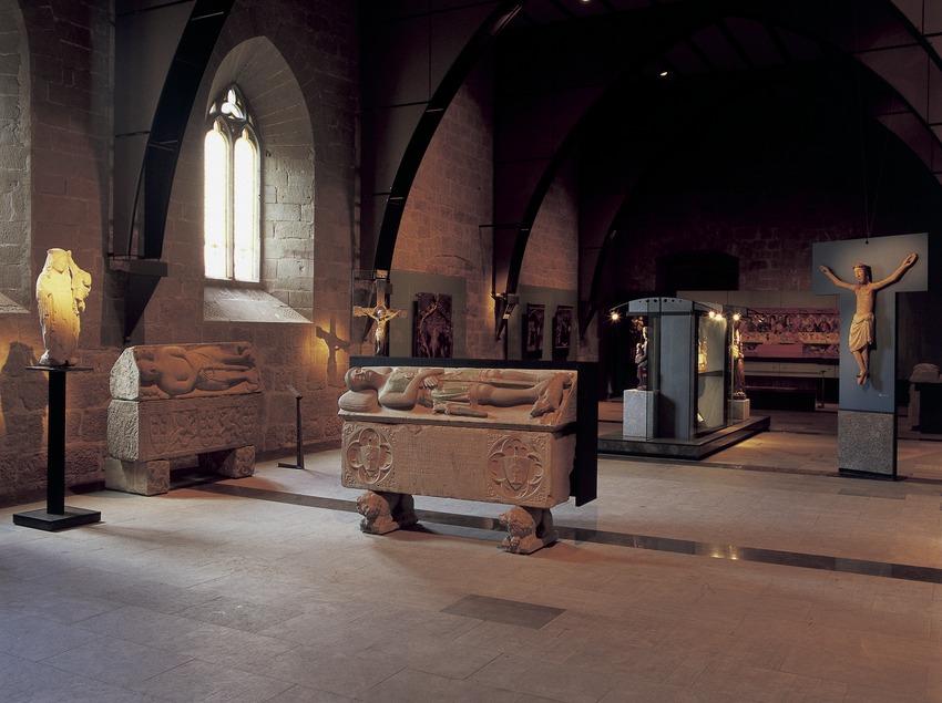 Sala de arte gótico del Museo Diocesano y Comarcal de Solsona.  (Imagen M.A.S.)
