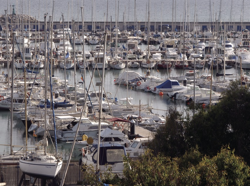 Vista general del puerto deportivo del Garraf  (Marc Ripol)