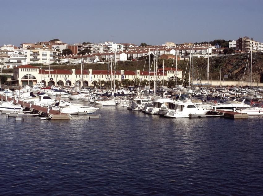 Vue générale du port de plaisance Marina de Palamós  (Marc Ripol)
