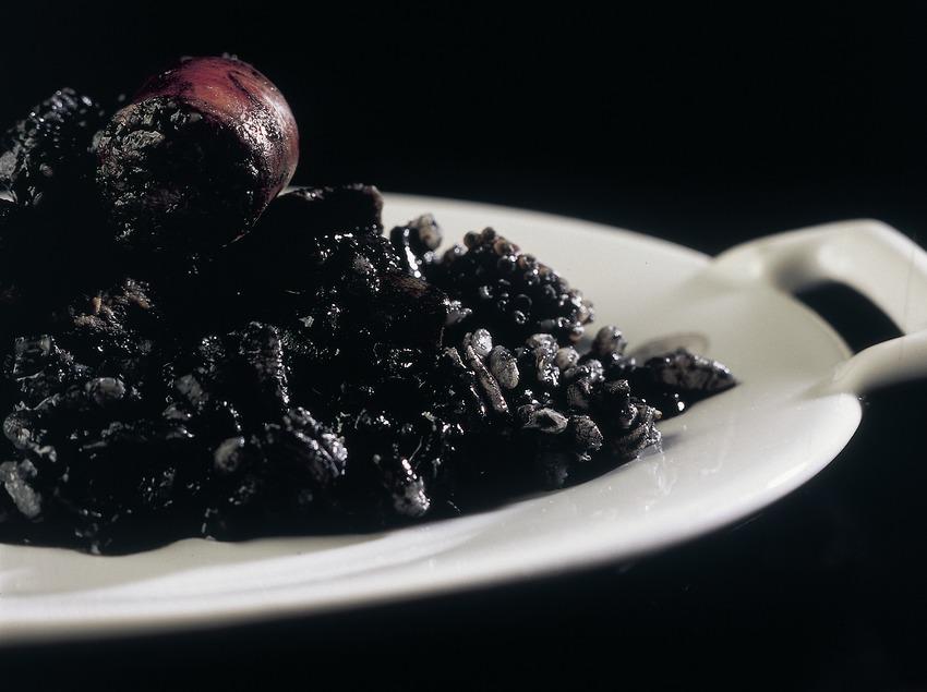 Arròs negre de l'Empordà.