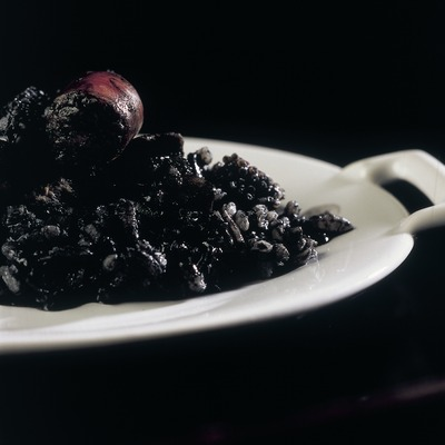 Black rice from the Empordà