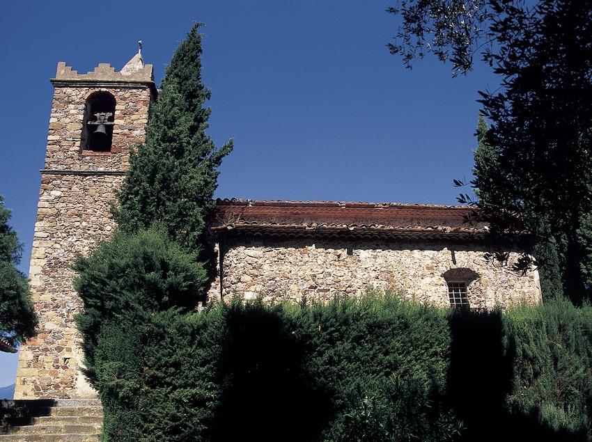 Santuario de Sant Martí de Montnegre.  (Turismo Verde S.L.)