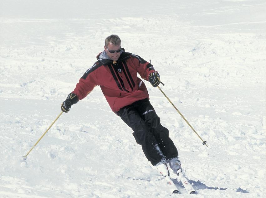 Esquí alpino.  (Daniel Julián)