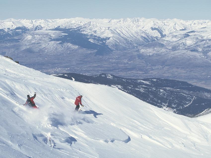 Alpine skiing.