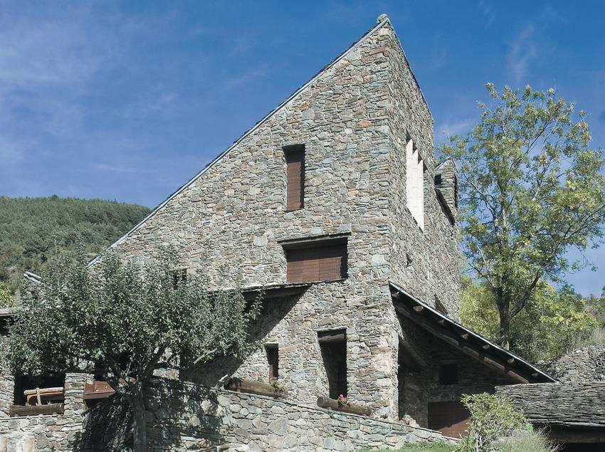 Volksarchitektur aus den Pyrenäen