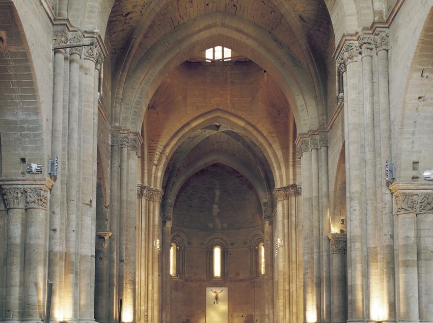 Nave central de La Seu Vella.  (Imagen M.A.S.)