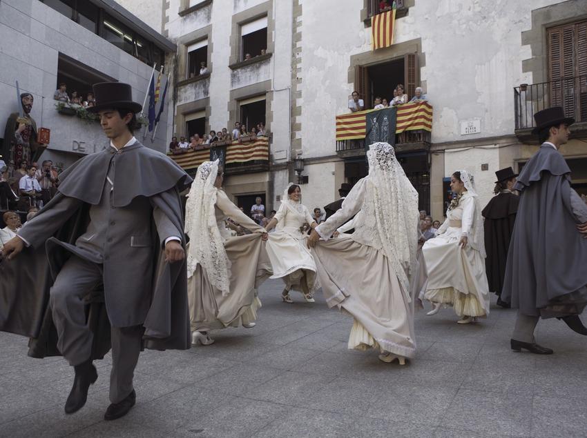 Danse de Castellterçol et le «Ball del Ciri» (danse du cierge) (Oriol Llauradó)