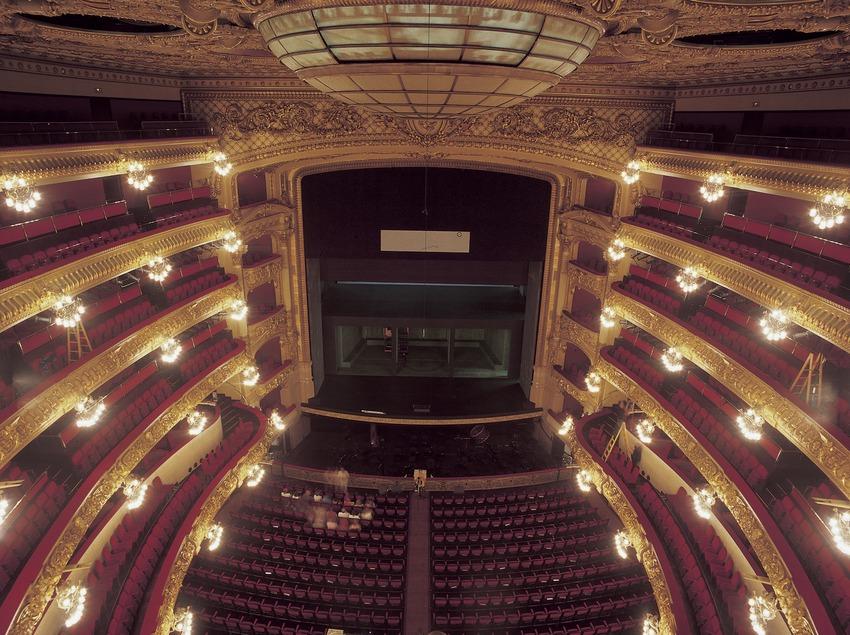 Saal des Opernhauses Gran Teatre del Liceu.  (Imagen M.A.S.)